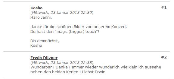 Michael Kosho Koschorreck & Erwin Ditzner/Cobody. 1/2013