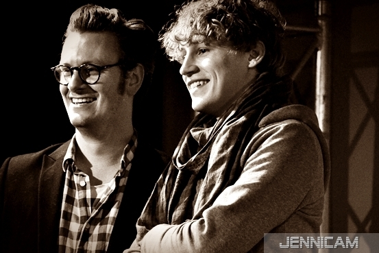 Tim Bendzko & Konrad Sommermeyer, Popakademie Mannheim, 6.12.2011 - (c) Jennifer Trautmann -