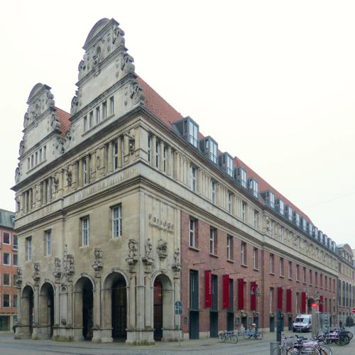 """... im """"Kontorhaus am Markt"""""""