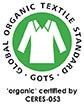 GOTS logo, loud-proud bio babykleidung