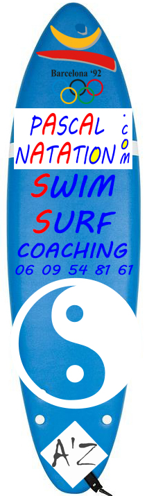 Cours de natation surf à La Ciotat en piscine couvert