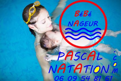 Séance de bébé nageurs à La Ciotat avec votre coach Pascal Natation