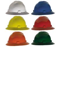 Casco de Seguridad  Ala Ancha mod. 500-09