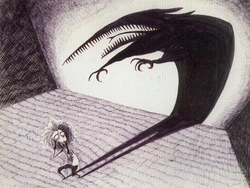 Dessin de Tim Burton