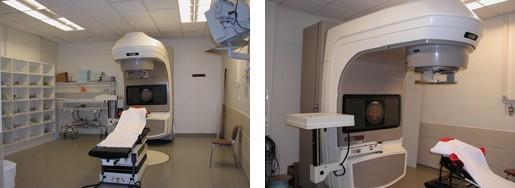 l'accélérateur de particules : Clinac IX...(réservé aux cancers de la prostate)