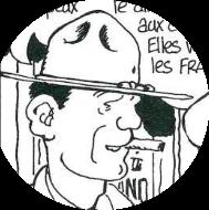 Bob l'américain, resté en France après l'Armistice, copain de Varlot