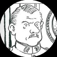 Colonel Fantin de la Larsaudière, commandant du 296e RI et héros de guerre