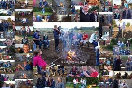 Kartoffelfeuer 2014 - die Collage...
