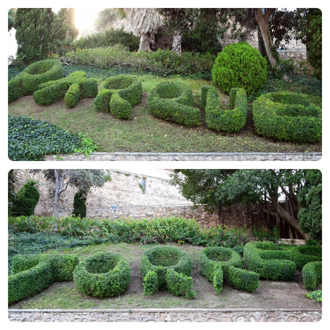 """Durch den Park """"El Parque Torres"""" hinauf zum """"Castillo de la Concepción"""""""