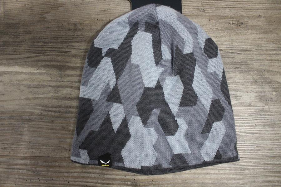 Salewa Camon Herren Wintermütze Farbe: Silbergrau Preis: 34,99€