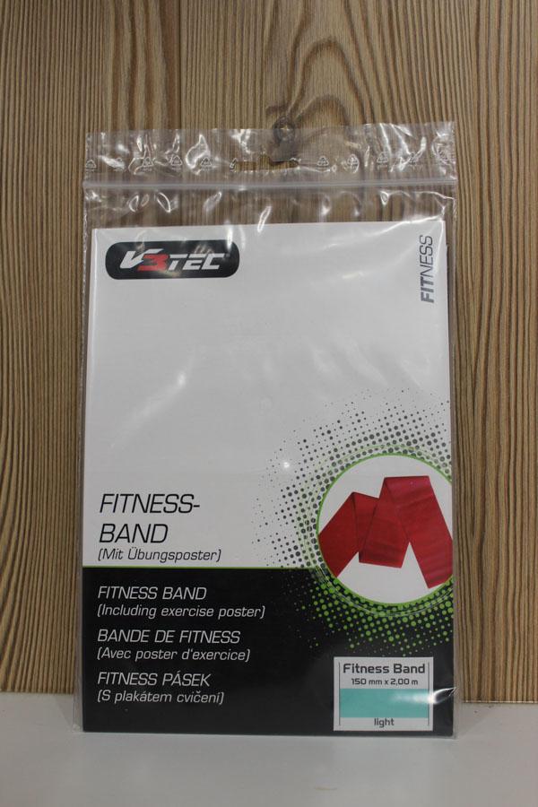 V3Tec Fitness Band light 150mm×2,00m Farbe: blau Preis: 13,95€