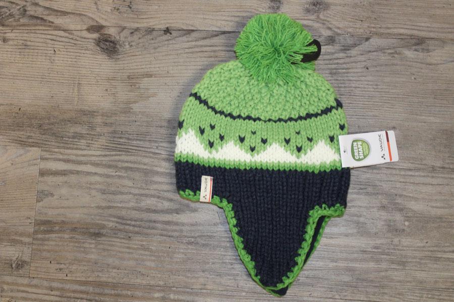 Vaude Knitted Kinder Wintermütze Farbe: Grün Preis: 25,00€