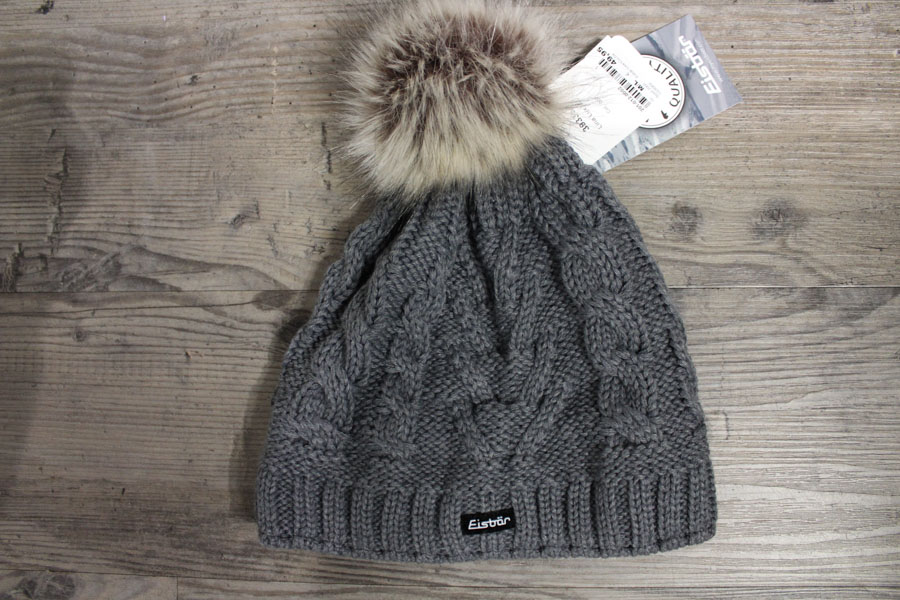 Eisbär Lina Lux Damen Wintermütze Farbe: Grau Preis: 49,95€