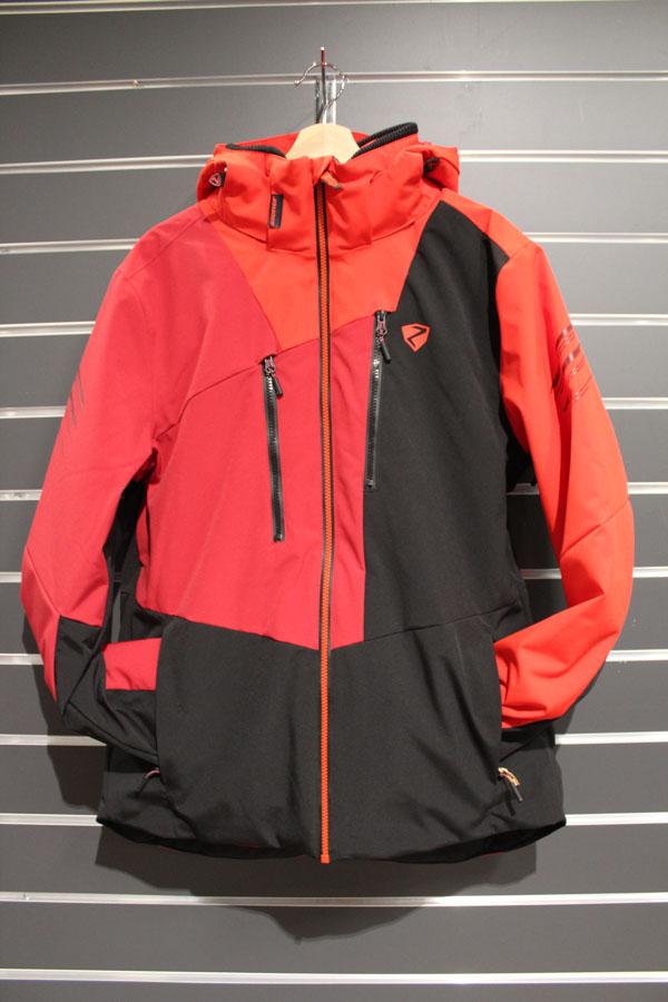 Ziener Tebulo Männer Skijacke Wassersäule:10.000mm, Atmungsaktivität 10.000g/m²/24, AQUASHIELD Membran Farbe: red black Preis: 259,99€ >Reduziert: 189,99€