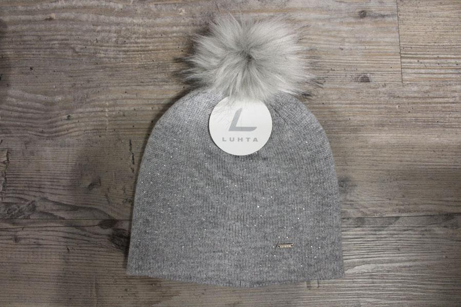 Luhta Nakurila Damen Wintermütze Farbe: Grau Preis: 24,90€