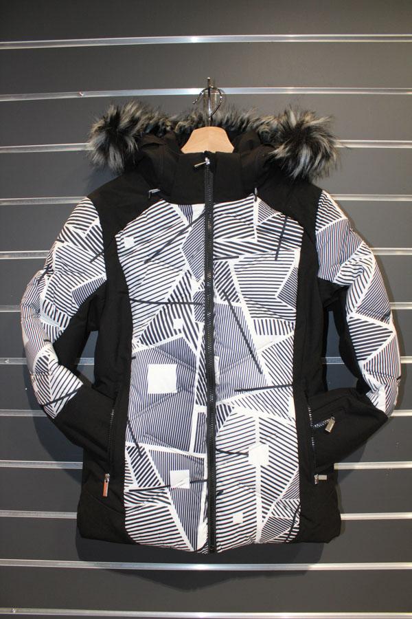 Icepeak Ellis Damen Skijacke Wasserabweisend, winddicht, atmungsaktiv Farbe: black, white Preis: 179,99€ >Reduziert: 129,99€