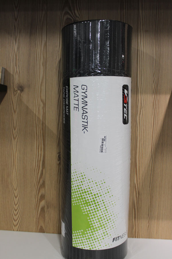 Gymnastikmatte 1,5cm dick Farbe: schwarz Preis: 29,95€