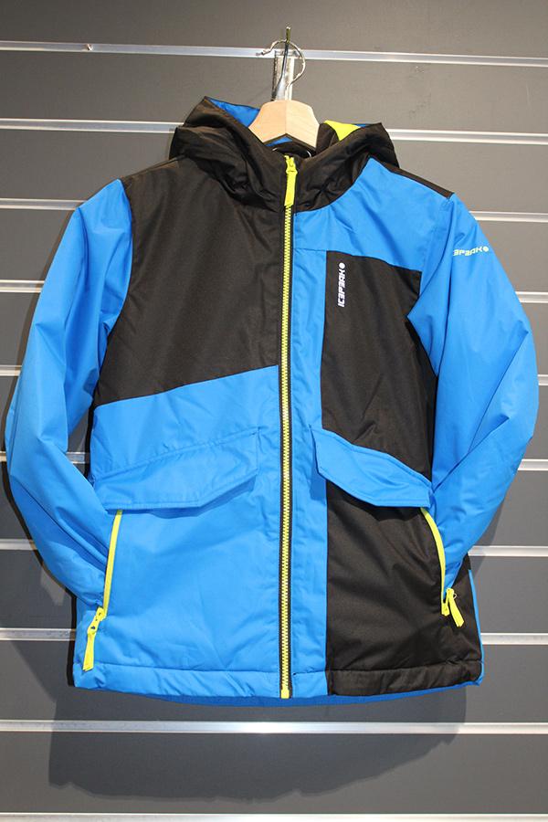 Icepeak Lowden Kinder Skijacke wasserabweisendes Obermaterial, Atmungsaktivität 5.000g/m²/24 Farbe: blau Preis: 69,99€ >Reduziert: 49,99€