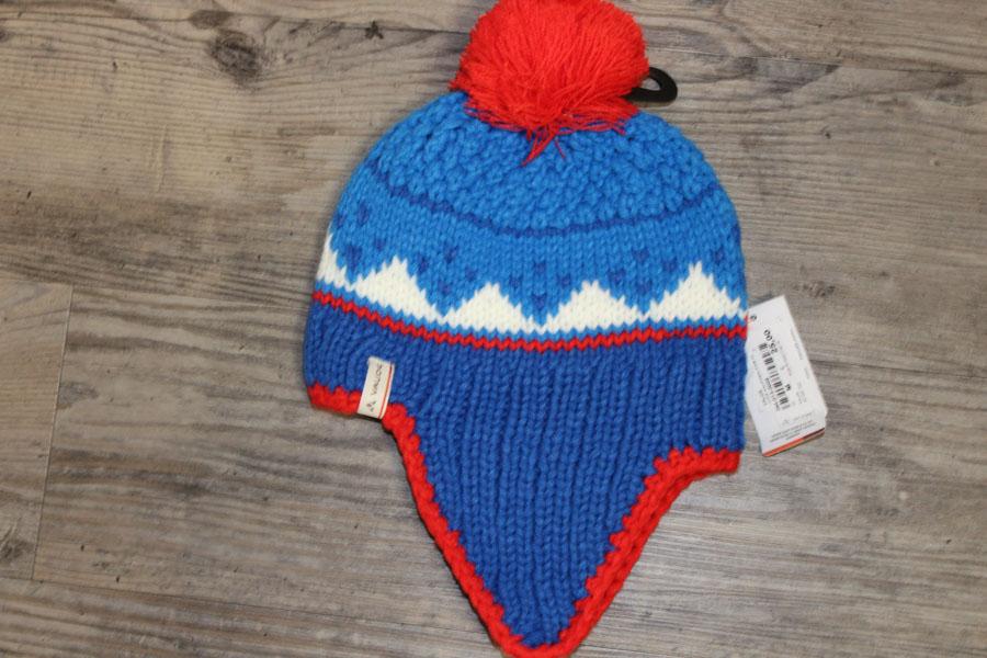 Vaude Knitted Kinder Wintermütze Farbe: Blau Preis: 25,00€