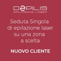 Acquista on line una seduta singola di epilazione laser.