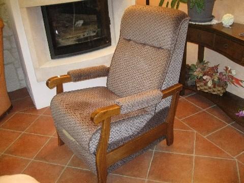 Fauteuil articulé - siège avant