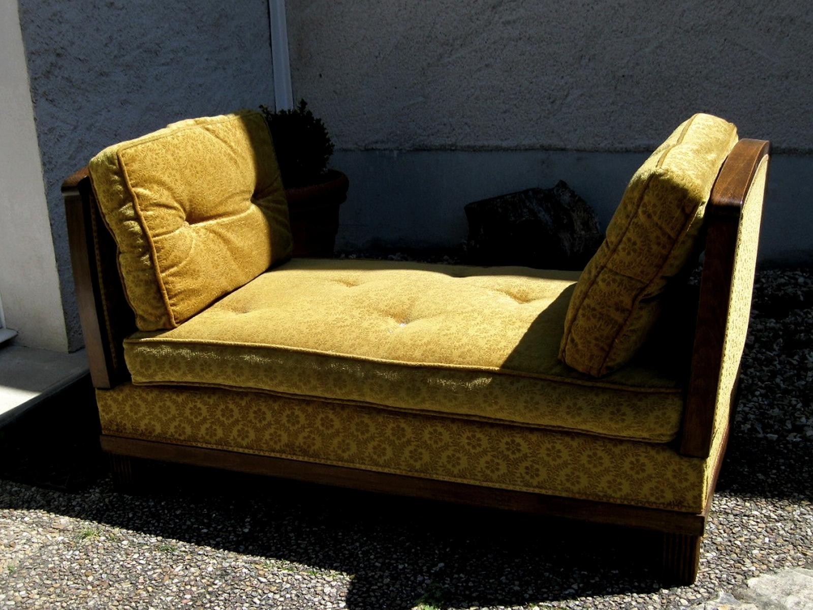 Lit de repos - siège avant restauration