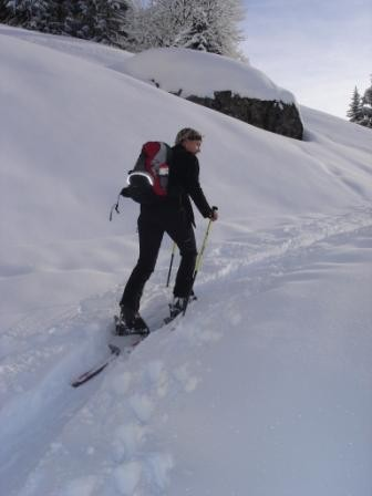 Bergauf gets.