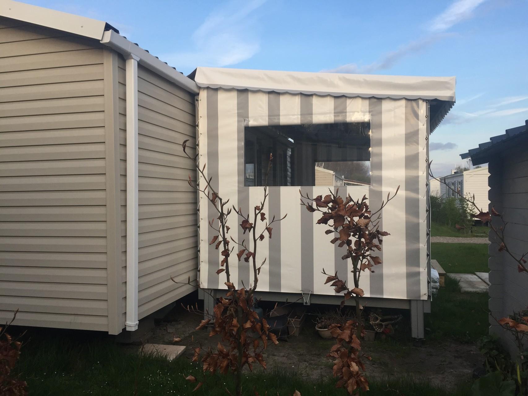 terrasse du lys vente de terrasse mobil home et chalet couverte ou non, façade , joue, côté, neuf et occasion