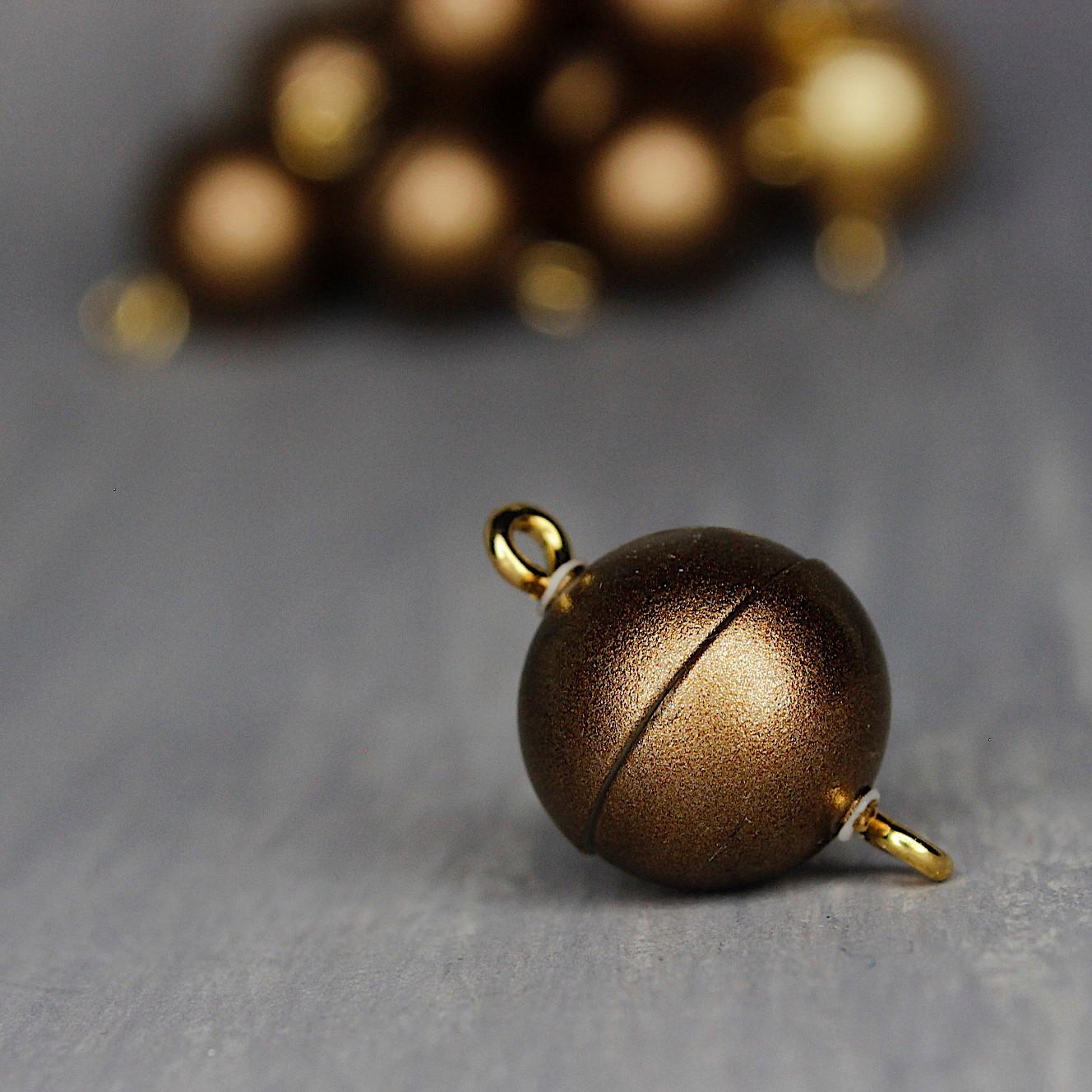 bronze mattiert 12mm