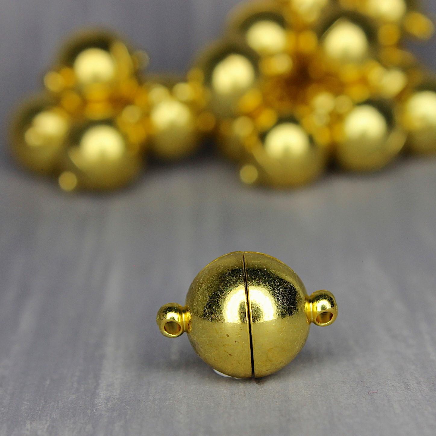 goldig glänzend 12mm