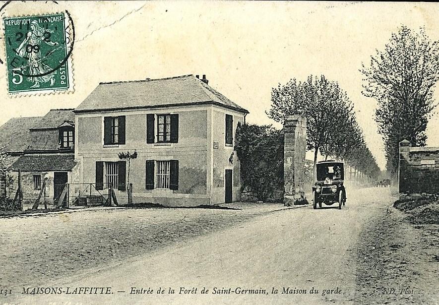 porte de la foret à Maisons-Laffitte