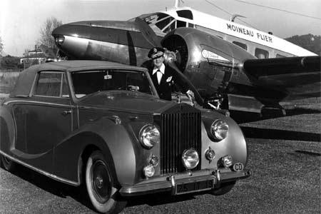 La Môme Moineau, sa Rolls et son avion