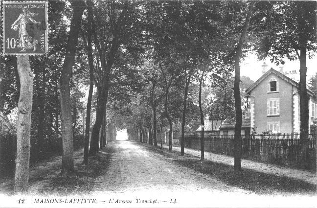 maisons-laffitte avenue tronchet