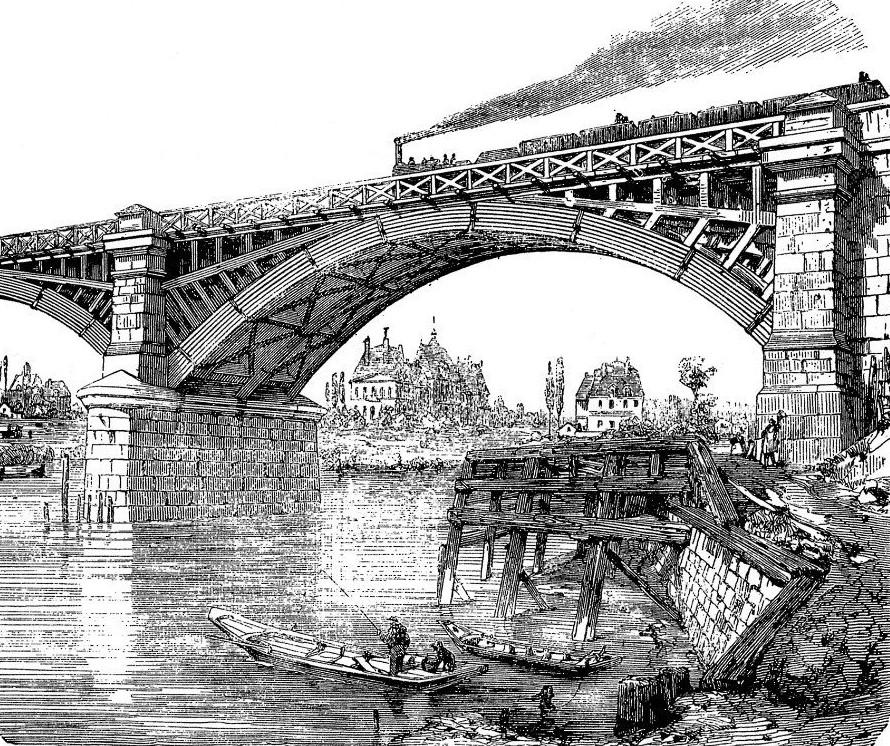 maisons-laffitte pont de chemin de fer
