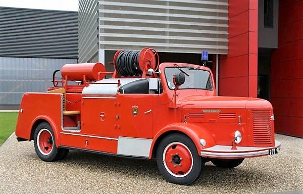 Camion de pompier Guinard-Hotchkiss