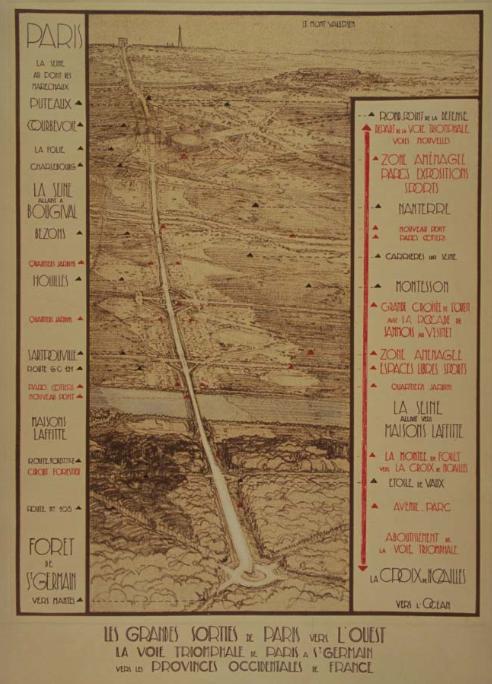La Voie Triomphale du plan Prost de 1934