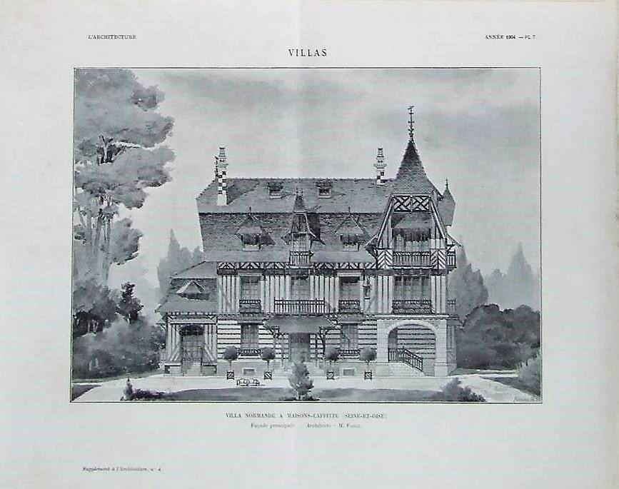 maisons-laffitte villa normande