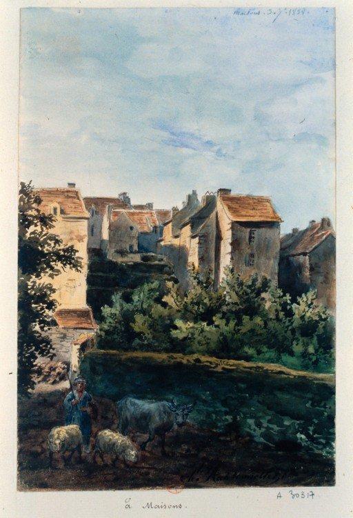 maisons-laffitte vieux village