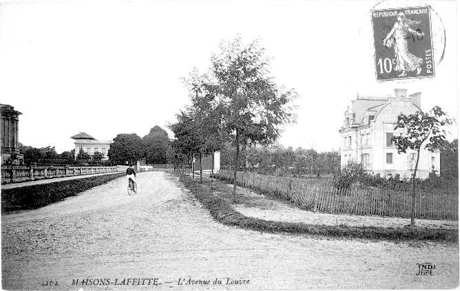maisons-laffitte avenue du louvre