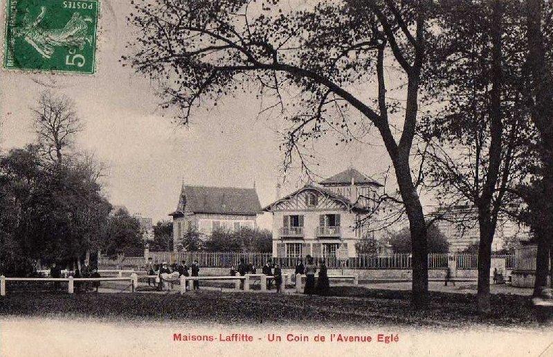 maisons-laffitte avenue eglee