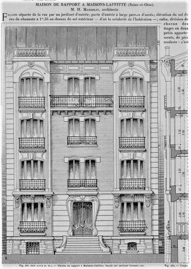maisons-laffitte bel immeuble