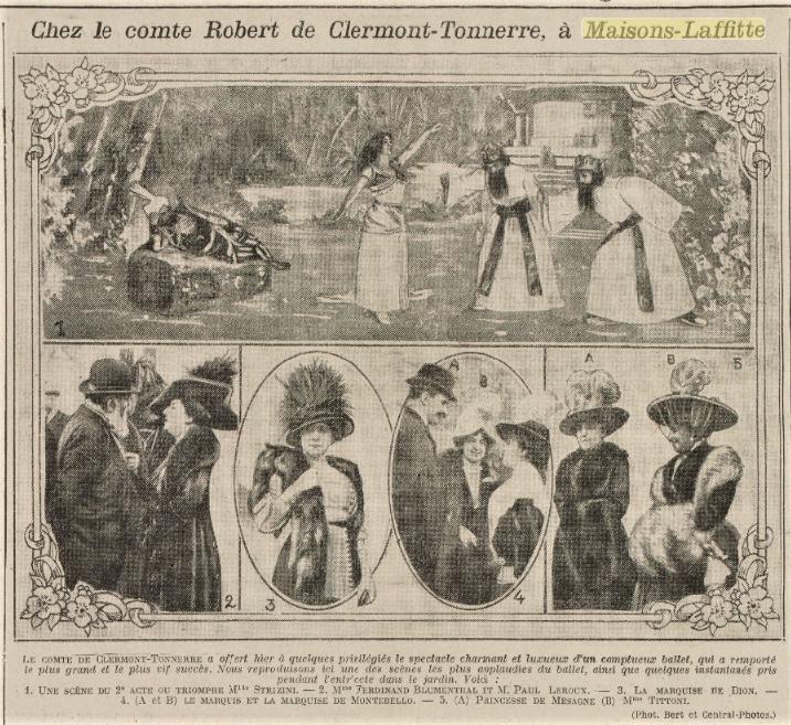 """Image """"l'Excelsior"""" 26 octobre 1911"""