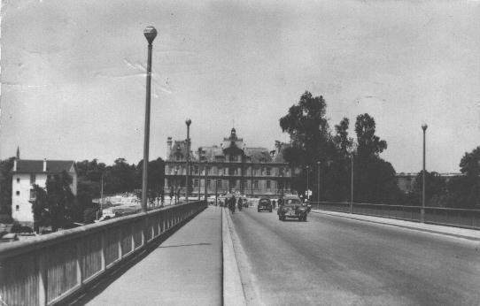 maisons-laffitte, pont de la deuxième DB