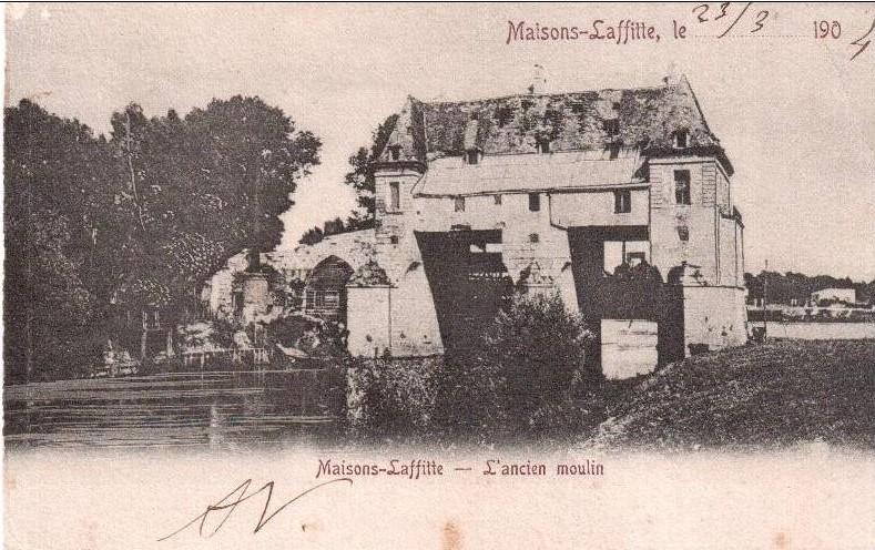 L'ancien vieux moulin de Maisons-Laffitte