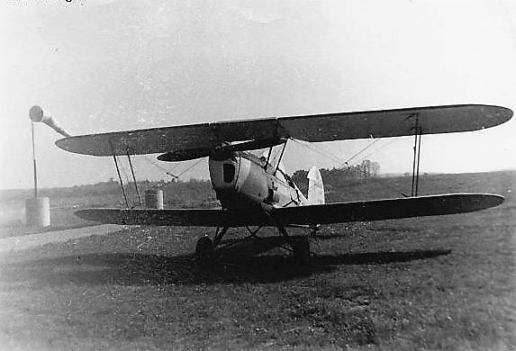 "Avion ""Stampe"" construit par Nord Aviation à Sartrouville"