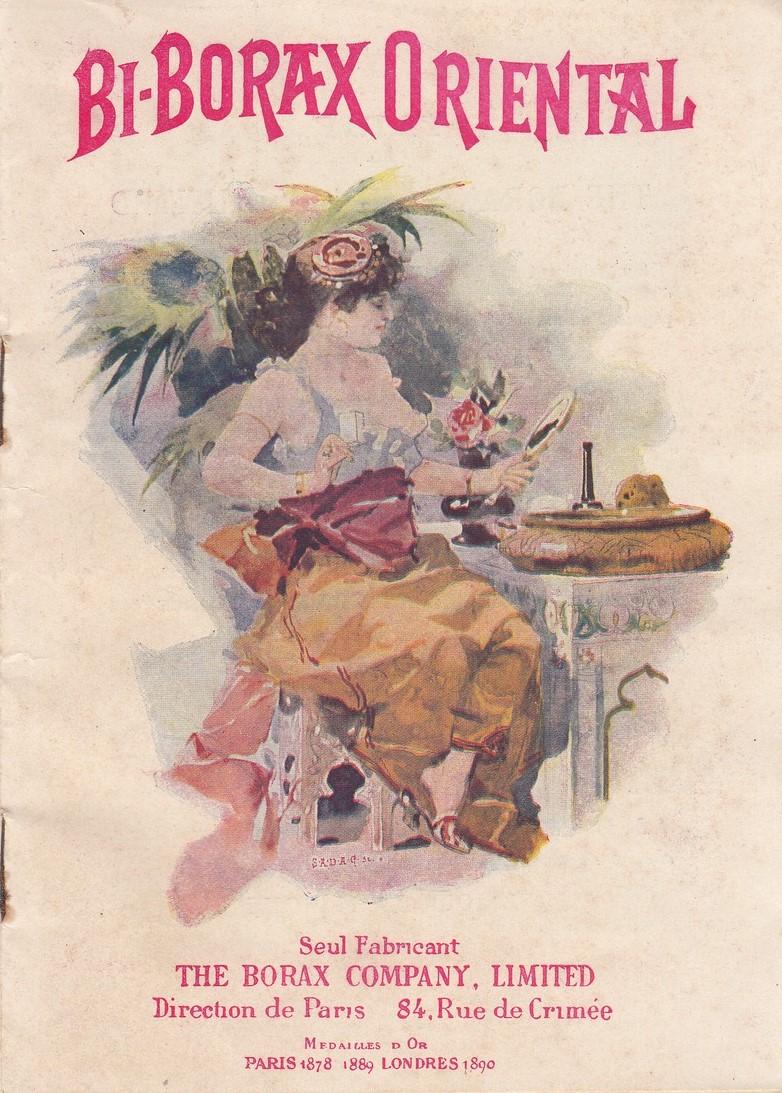 Affiche publicitaire pour le Bi-Borax à Maisons-Laffitte