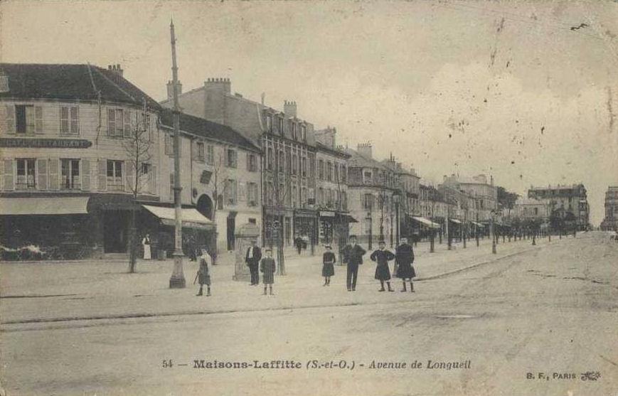 maisons-laffitte, avenue longueil