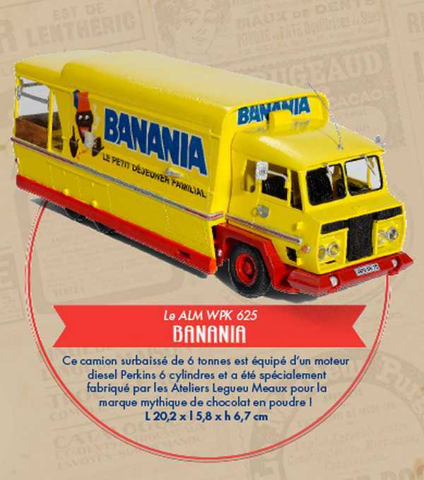 Camion publicitaire BANANIA