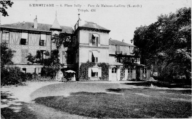 maisons-laffitte maison de Jean Cocteau