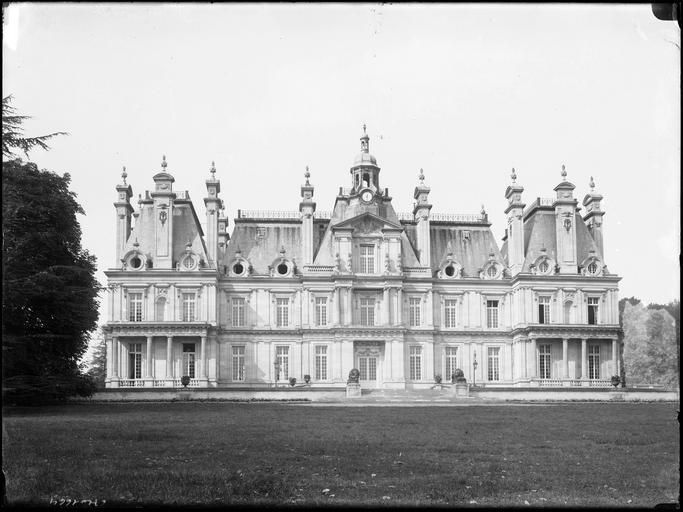 Copie du chateau de Maisons-Laffitte: Le chateau de Franconville aux Bois
